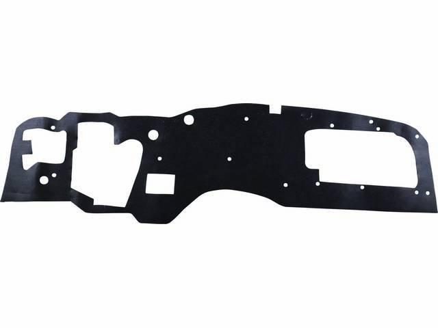 INSULATION PAD, Firewall, Std Version, Incl plastic fastener