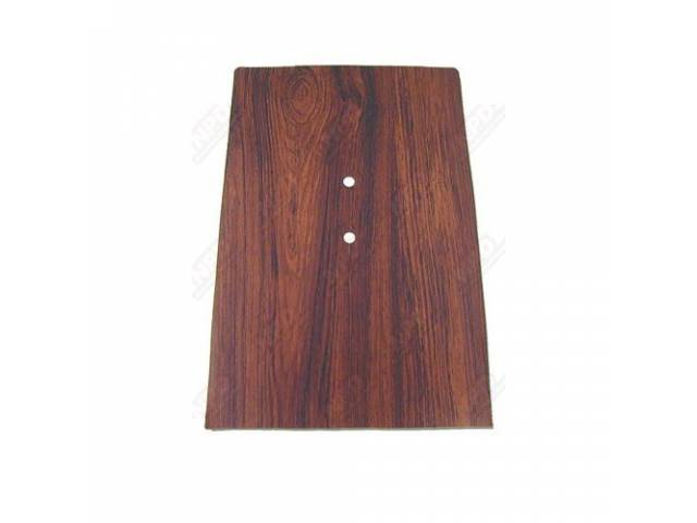 Plate Console Trim Forward Cherry Wood Finish Does