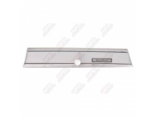 Bezel Glove Box Chrome Frame W/ Chrome Center