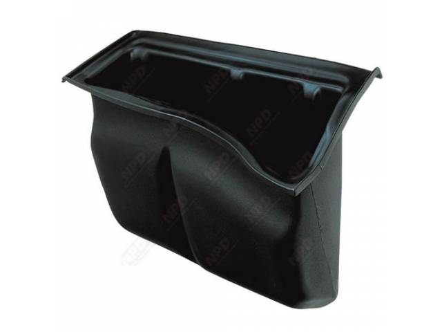 Box Storage Compartment Fits Behind Drivers Seat Repro
