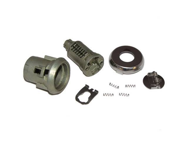 CYLINDER KIT, Door Lock, Uncoded, 3/8 inch, GM