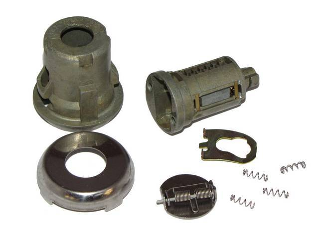 CYLINDER KIT, Door Lock, Uncoded, 1/4 inch, repro