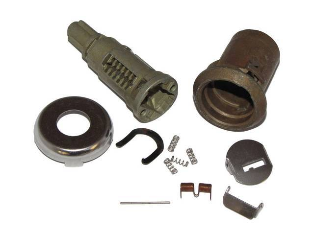 CYLINDER KIT, Door Lock, Uncoded, 3/4 inch, repro