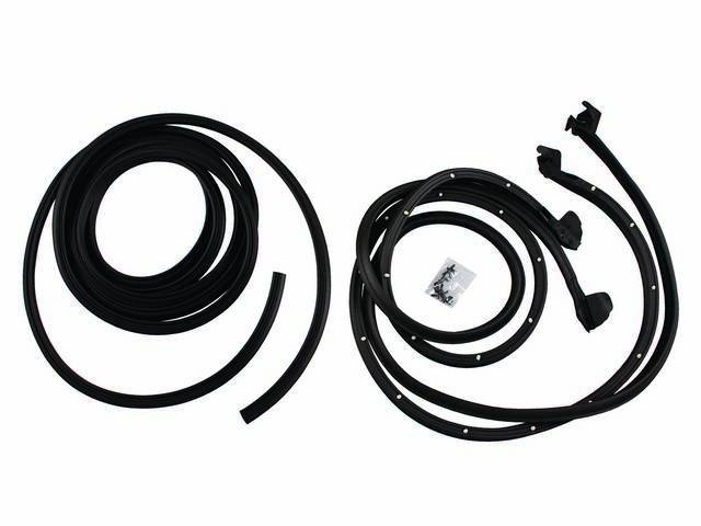 Weatherstrip Kit Basic Incl Seals For Door Shell