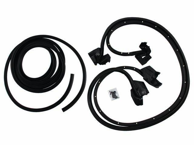 WEATHERSTRIP KIT, Basic, incl seals for door shell
