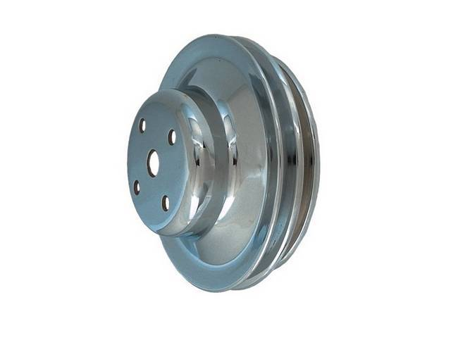Pulley Water Pump Double Groove Staggered Diameter 5