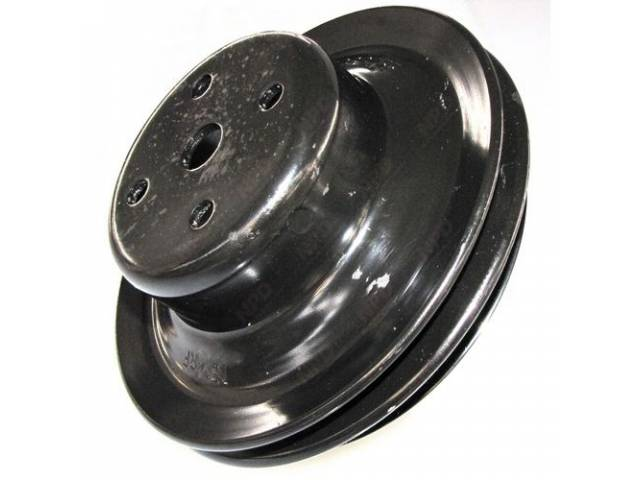 Pulley Water Pump Double Groove 6 1/4 Inch