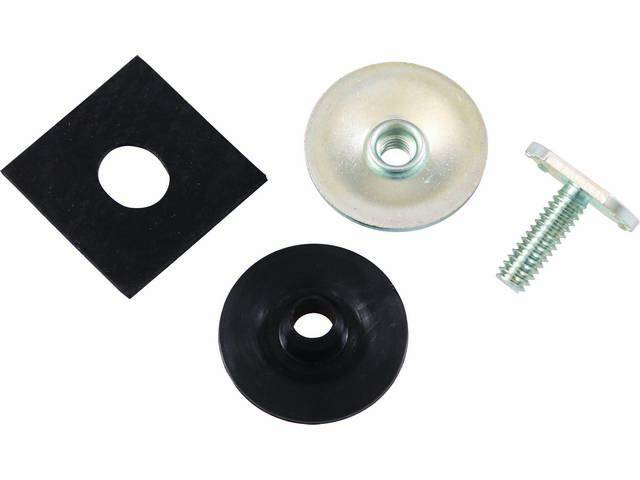 STUD ASSY, Door Window Glass to Track Mounting,