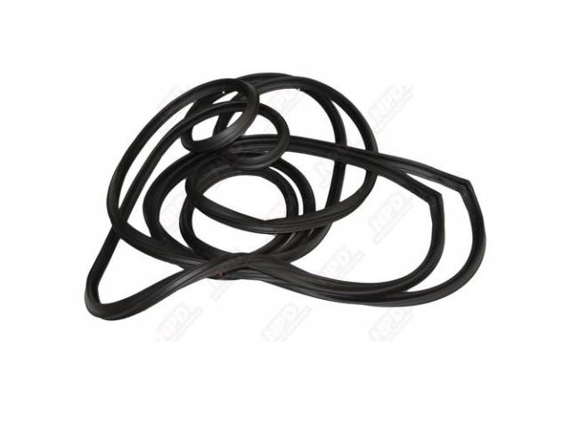 WEATHERSTRIP SET, Front Door, Repro  ** Limited Lifetime Warranty, see incl card for details **