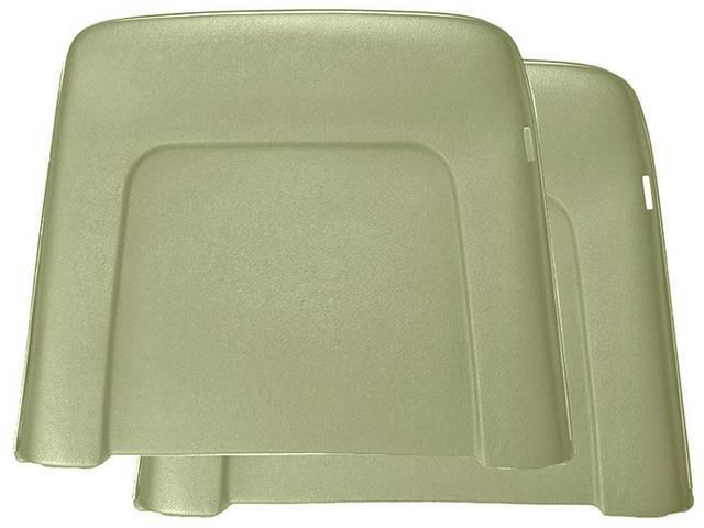 PANEL SET, Bucket Seat Back, ivy gold, ABS-Plastic