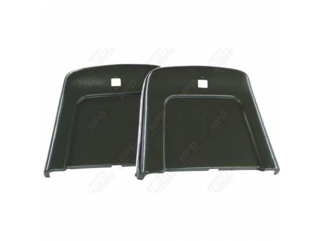 Panel Set Seat Back Dark Green Non-Metallic Finish