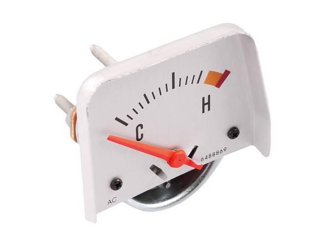 GAUGE, Coolant / Water Temperature, Repro