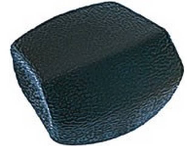 KNOB, Seat Track Adjuster, RH or LH, Black plastic, GM