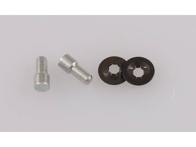 HINGE PIN KIT, Console Ash Tray Lid, keeps
