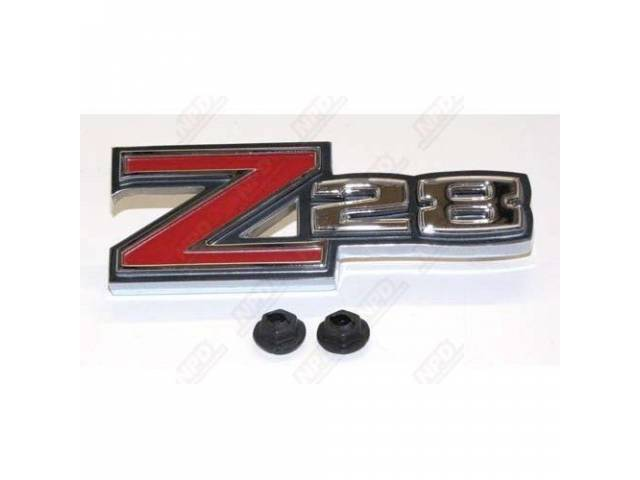 Emblem Deck Lid Z/28 Gm Original