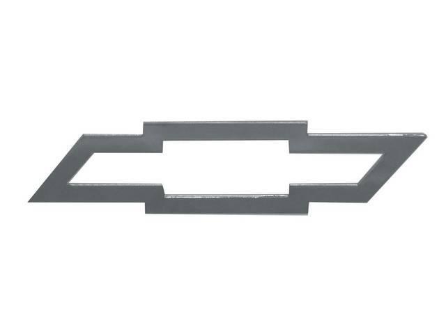 Emblem, Rear Panel, *Bowtie* W/ Open Center, Mirror