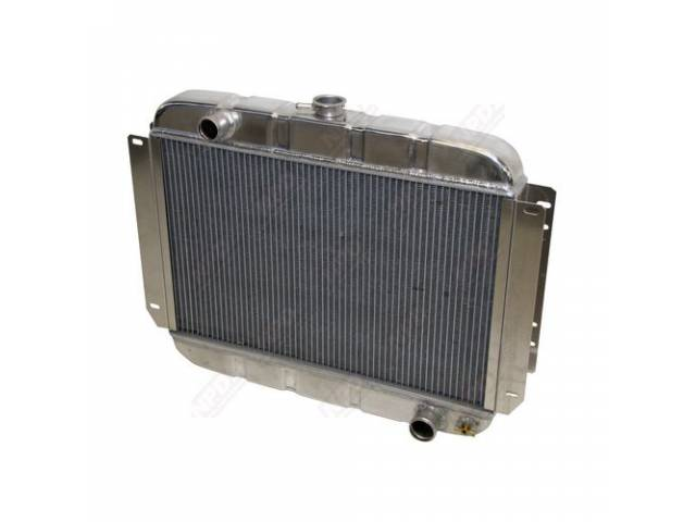 RADIATOR, Down Flow, 2 Row, an aluminum version
