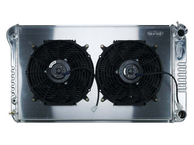 RADIATOR AND FAN KIT, Cold Case, incl p/n