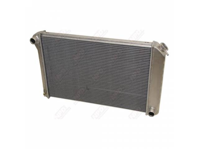 Radiator Cross Flow 2 Row An Aluminum Version