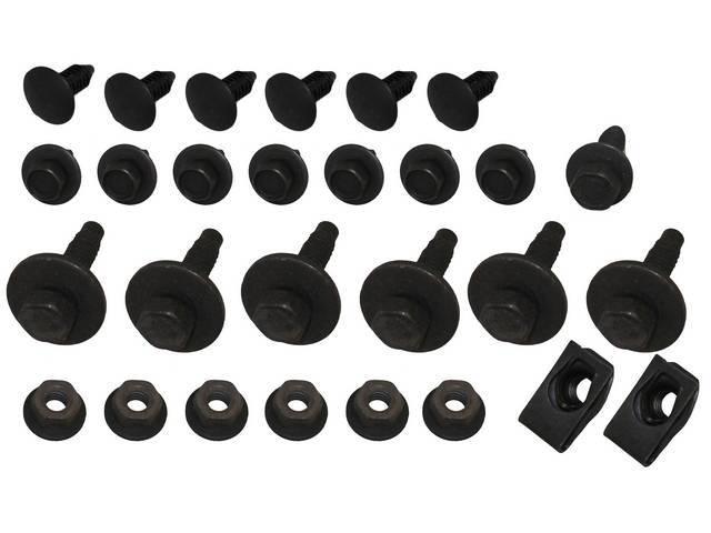 Fastener Kit Nose Panel Impact Bar Cover 28