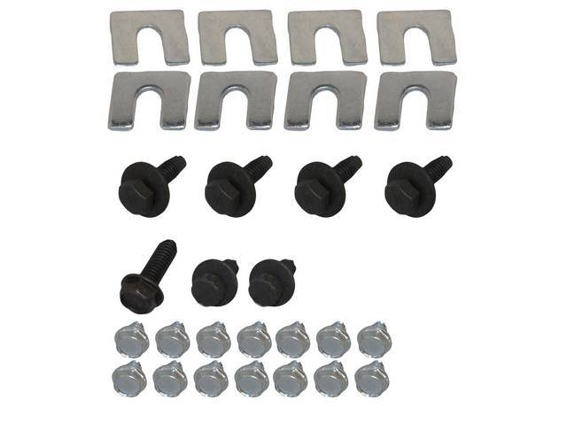 Fastener Kit Nose Panel Support 29 12 Point