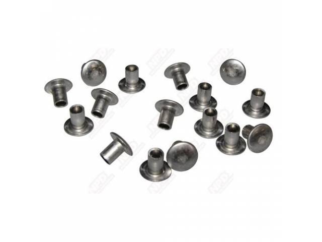 FASTENER KIT, Grille, (16) Incl Semi-tubular rivets