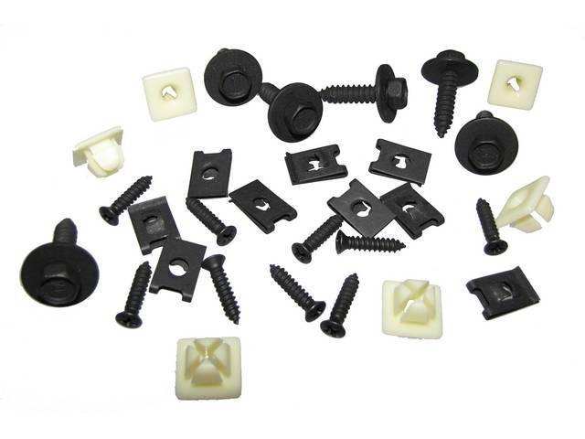 Fastener Kit Grille 30 Incl Hx Ab Flat