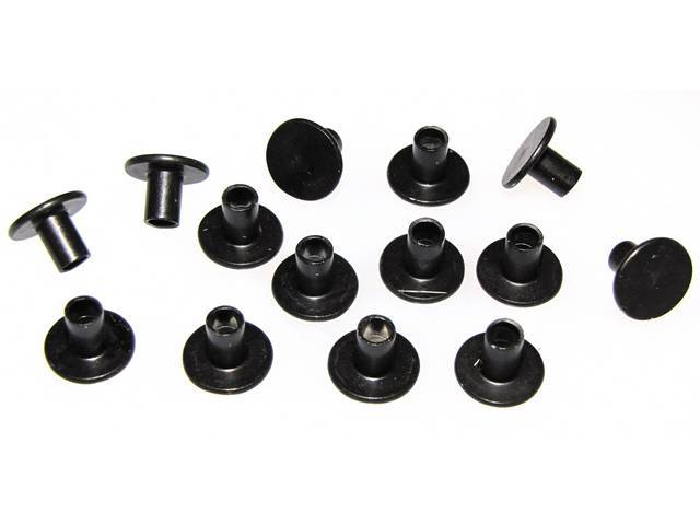 Fastener Kit Grille 14 Incl Semi-Tubular Rivets