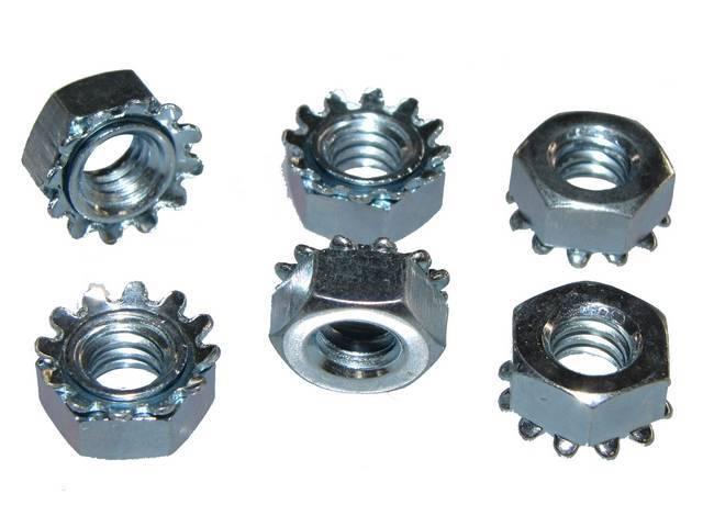 Fastener Kit Grille Upper Molding 6 Incl 1/4-20