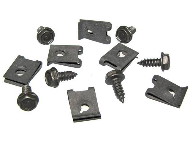 FASTENER KIT, Grille, Lower Molding, (12) Incl HXWA