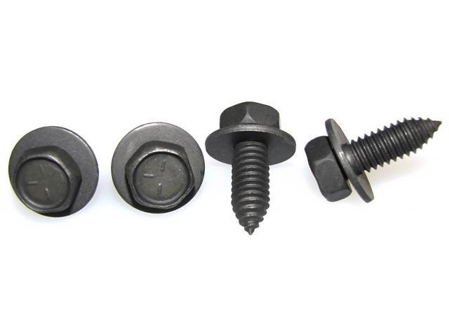 FASTENER KIT, Front Wheelhouse To Radiator Core Support,