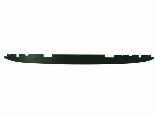 AIR DAM / BAFFLE, Radiator, Support Air, used to force additional air through the radiator, ABS-plastic, repro