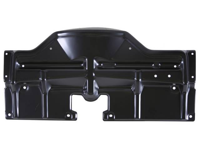 PANEL, Radiator Upper Mounting and Fan Guard, black