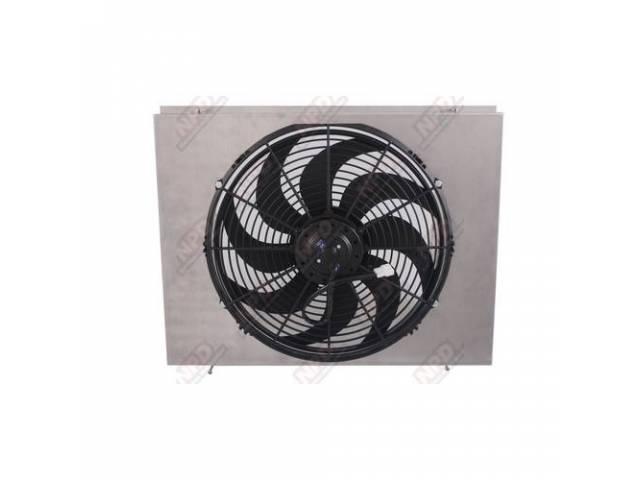 Shroud Radiator Fan Aluminum Shroud W/ 16 Inch