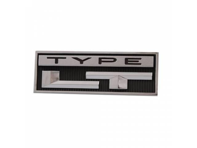 Emblem Roof Side / Rear Panel Type Lt
