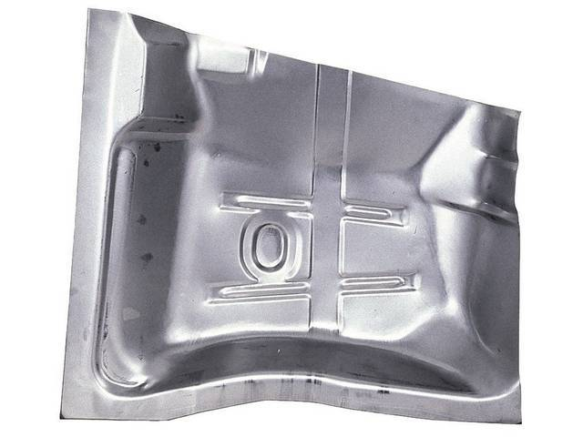 FLOOR PAN, Rear Section, LH, 29 inch length x 29 3/8 inch width, US / Canadian made Repro