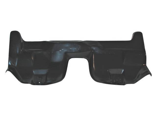 TRANSITION PAN, Rear Seat Backrest, incl reinforcement brace, w/o lower attachment screw brackets / holes, 20 gauge steel, weld through primer, repro