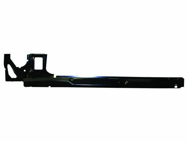 ROCKER PANEL, Inner, RH, Incl Kick panel area, 75 Inches over all length, 16 Gauge EDP steel, Repro