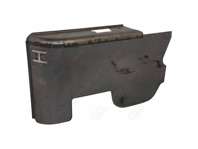 Panel Inner Side Quarter Arm Rest Lower Rh