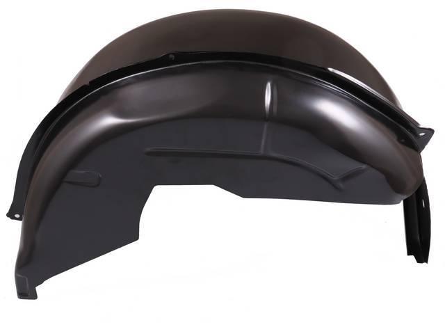 PANEL ASSY, Quarter Wheelhouse, Inner and Outer, RH, stock style, EDP-coated repro