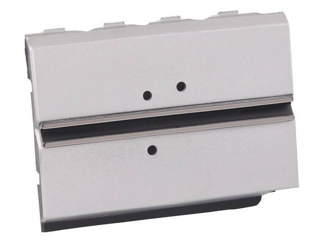Door Fuel Tank Filler Silver Painted W/ Accent
