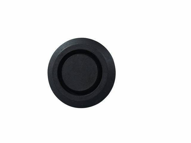 PLUG, Floor Pan, Rubber, 2 Inch over all