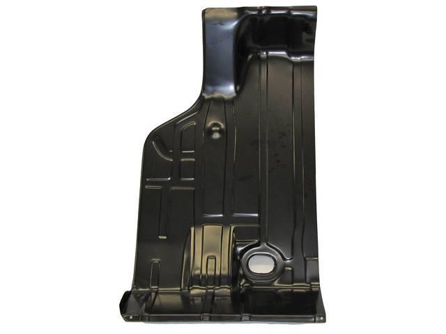 FLOOR PAN, Rear Compartment / Trunk, 3 Piece