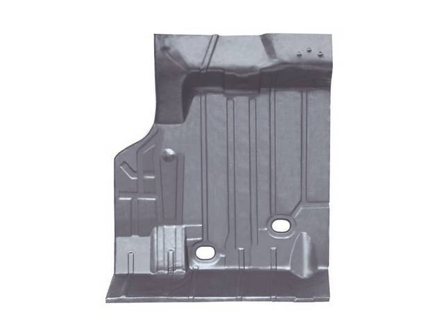 FLOOR PAN, Rear Compartment / Trunk, 2 Piece Design, LH, 42 Inch Over All Length x 33 1/2 Inch wide, Canadian Repro