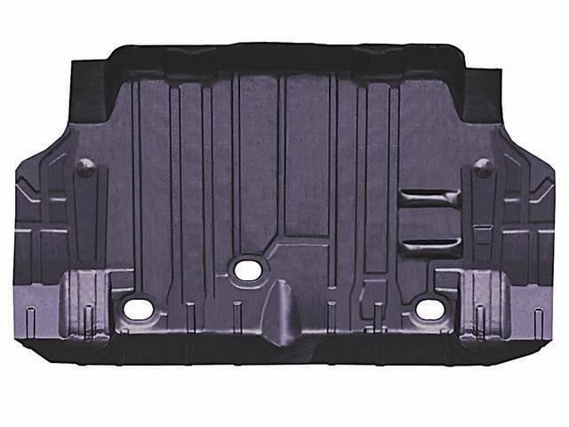 FLOOR PAN, Rear Compartment / Trunk, Extended, 41 3/4 Inch front width, 56 middle width, 51 inch rear width, 34 Inch Over All Length, Imported repro