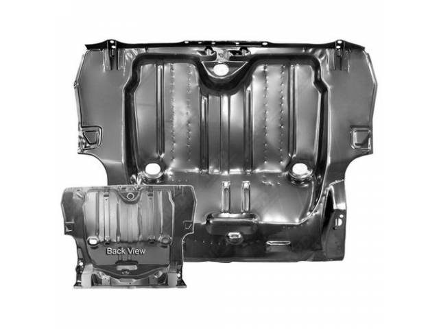Floor Pan Rear Compartment / Trunk Complete 47