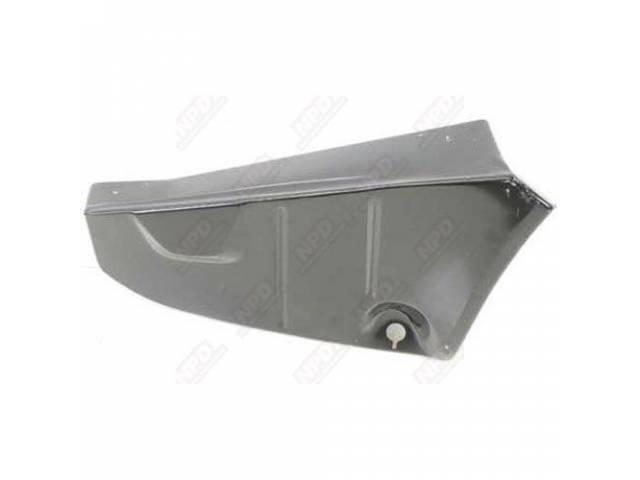 Filler Panel Rear Compartment / Trunk Floor Pan