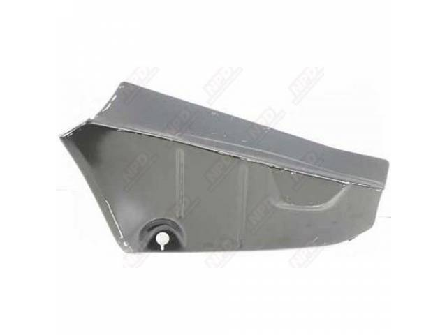 Filler Panel Rear Compartment / Trunk Floor Pan