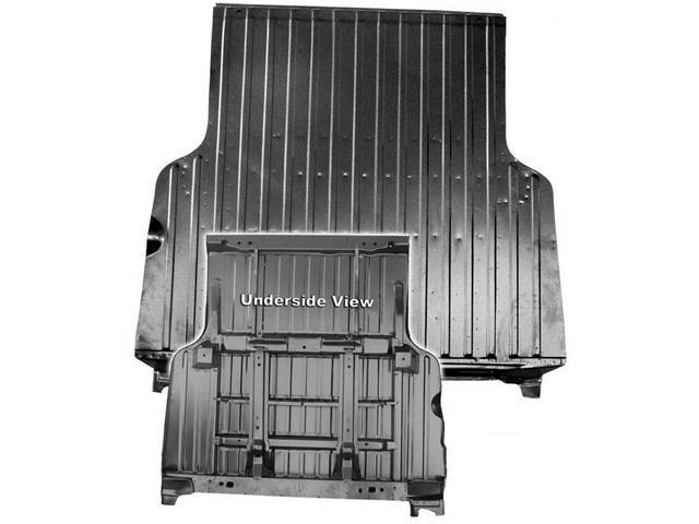 FLOOR PAN ASSY, Bed, Complete, 61 Inches Over