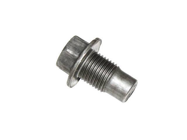 PLUG / SCREW, Oil Pan Drain / Transmission Oil Pan Drain, 1/2 Inch-20, Non-Magnetic, GM   ** Replaces GM p/n 3779764, 3923420 and 529752 **